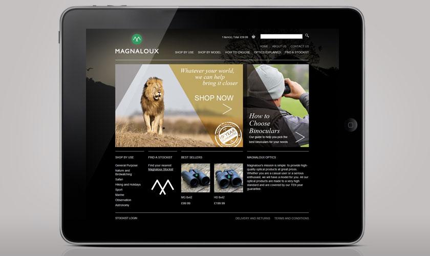 magnaloux-home-page